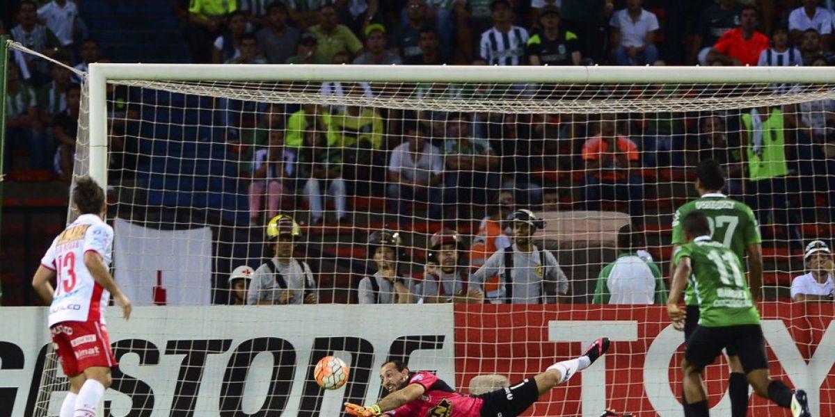 Osses fue espectador privilegiado de la definición del grupo 4 de la Libertadores