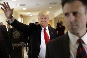 Cruz va detrás de Trump, mientras que Kasich tiene la tercera posición del grupo. Foto:AP. Imagen Por: