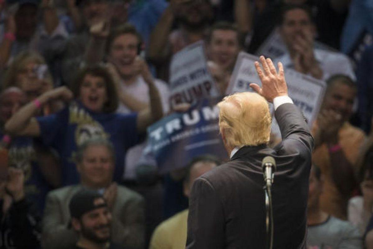 Este 19 de abril Tump enfrenta a sus dos oponentes del Partido Republicano. Foto:AP. Imagen Por: