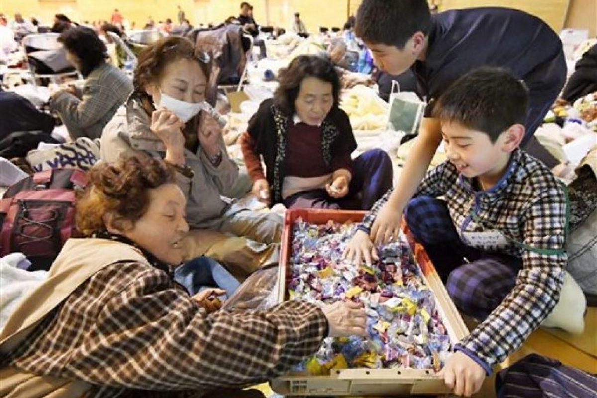 Las autoridades señalaron al menos 40 personas fallecidas y 100 desaparecidos en la isla de Kyushu Foto:AP. Imagen Por: