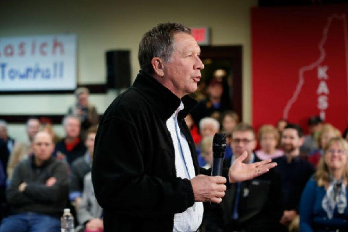 Gobernador del estado de Ohio. Miembro del Partido Republicano, de 63 años. Foto:AP. Imagen Por: