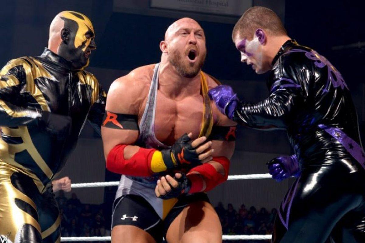 Se trata de Ryback Foto:WWE. Imagen Por: