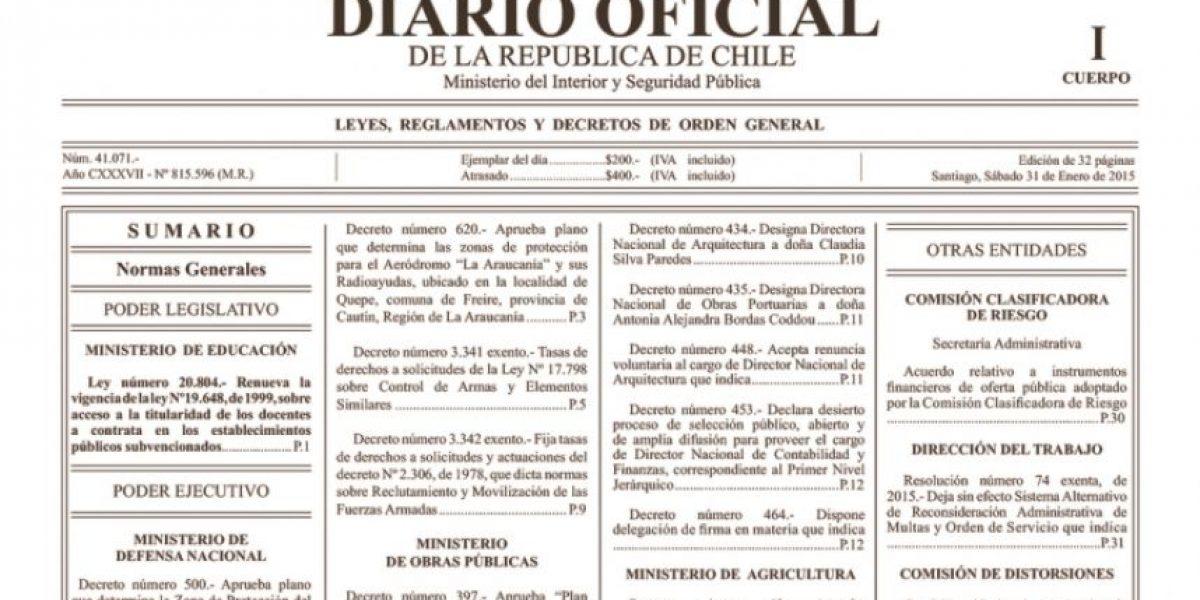 El fin de una época: anuncian la fecha de la última edición impresa del Diario Oficial