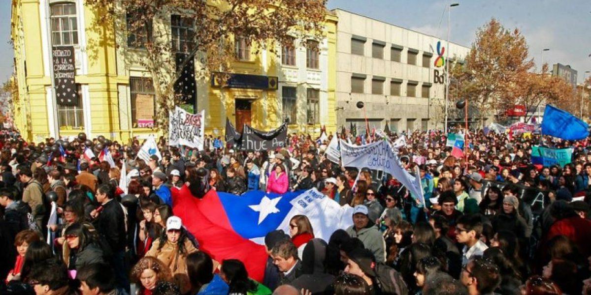 Confech ratificó convocatoria a marcha por la Educación para este  jueves