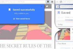 6.- Save to Facebook. Foto:Chrome Web Store. Imagen Por: