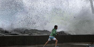 Armada emite alerta por fuertes marejadas en la costa el fin de semana