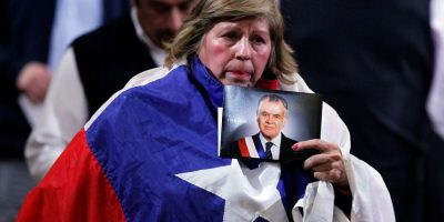 Miles de personas dicen adiós al ex Presidente Patricio Aylwin