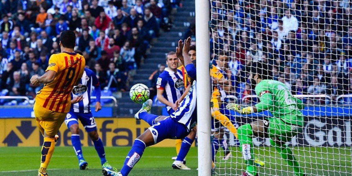 Revisa las mejores imágenes de la goleada del Barça sobre Deportivo
