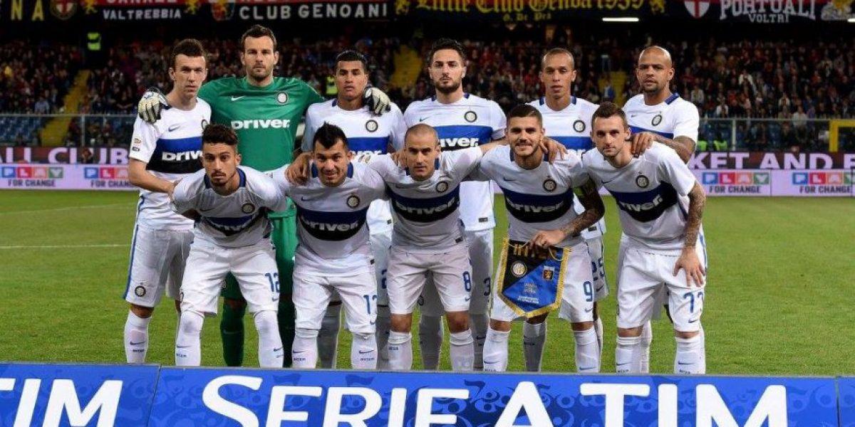 El Inter de Gary Medel cae ante Genoa y se aleja de la Champions League