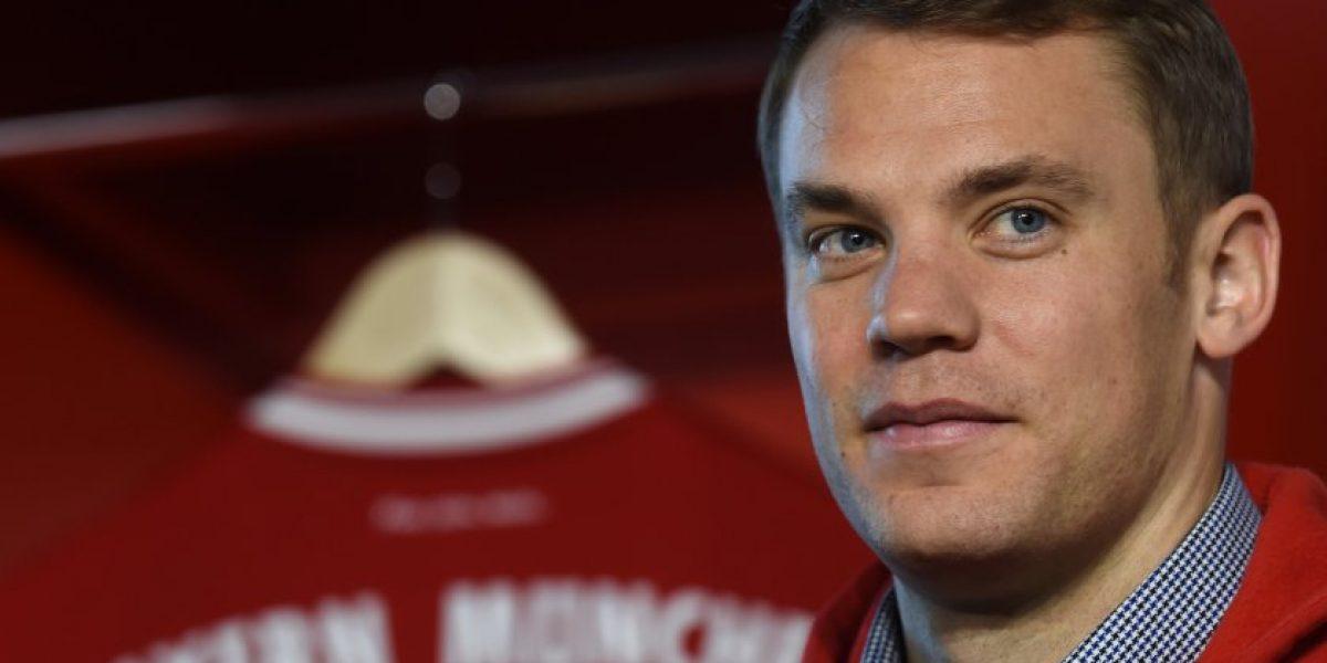 No se mueve del Bayern: Manuel Neuer extendió su contrato hasta el 2021
