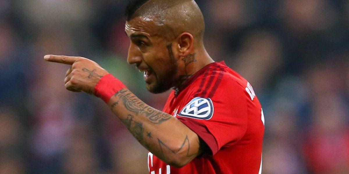 En Alemania se lanzan contra Vidal por su