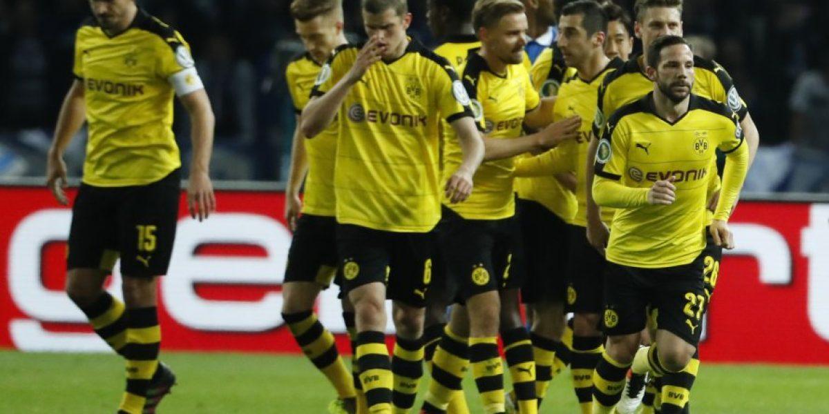 Borussia Dortmund enfrentará al Bayern de Vidal en la final de la Copa de Alemania