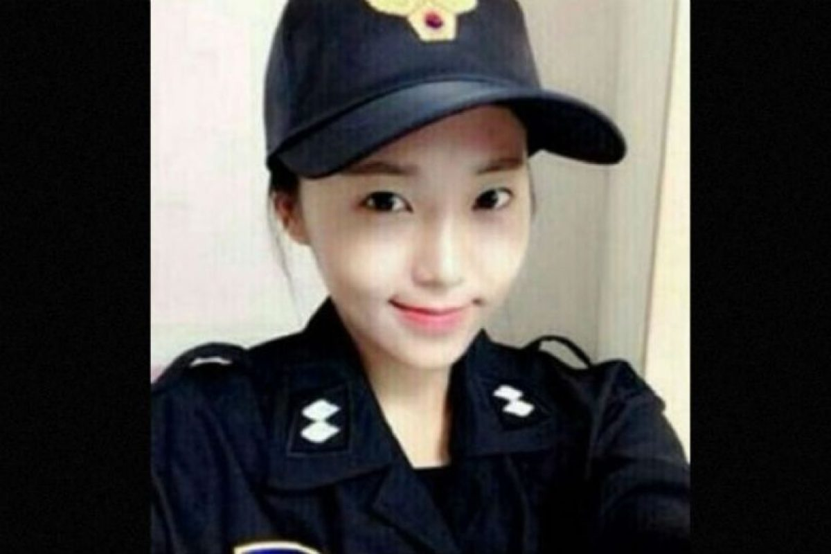 Su nombre es Kim Miso y dejó las pasarelas para convertirse en una policía en Seúl, Corea del Sur. Foto:Vía Instagram. Imagen Por: