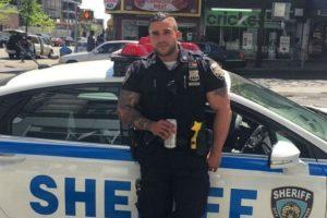 Miguel Pimentel, se unió a la Marina estadounidense cuando tenía 21 años. Y pasó a formar parte de la Policía de Nueva York en 2013 Foto:Vía instagram @keepnitone00. Imagen Por: