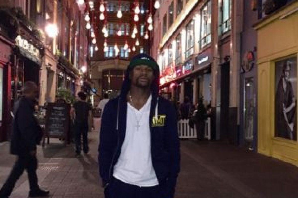 Floyd presume su lujosa vida en las redes sociaeles Foto:Vía instagram.com/floydmayweather. Imagen Por: