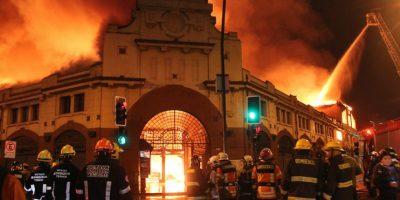 Incendio del Mercado de Temuco: Pérdidas superarían los 10 mil millones de pesos