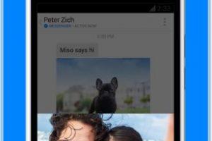 Y cuenta con una versión web. Foto:Messenger. Imagen Por: