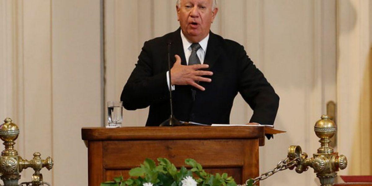 Ex Presidentes rinden homenaje a Aylwin: