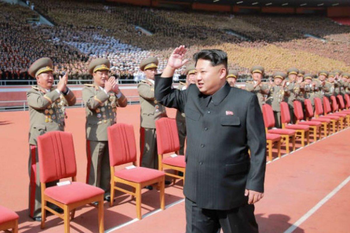 Kim Jong Un. Jefe de estado de Corea del Norte. Foto:AP. Imagen Por: