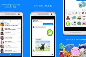 Facebook Messenger nos permite platicar con nuestros contactos de Facebook. Foto:Messenger. Imagen Por: