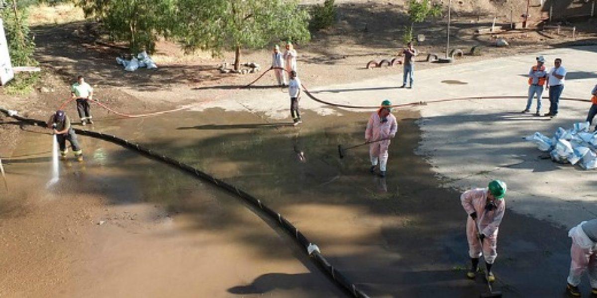 Codelco confirmó nuevo derrame de relaves y sumario en División Andina