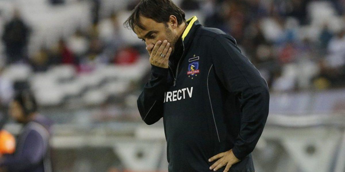 José Luis Sierra queda al borde del abismo y su continuidad en Colo Colo peligra