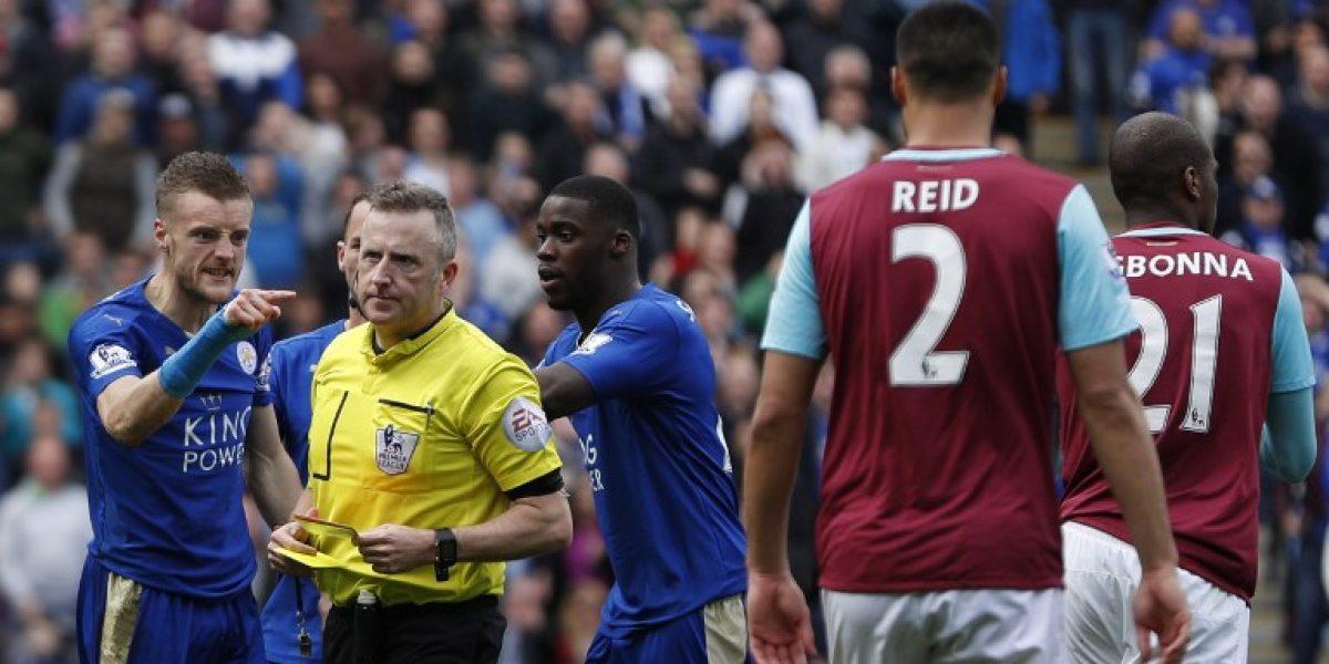Jamie Vardy acepta la acusación por conducta impropia y podría perderse el partido con el United