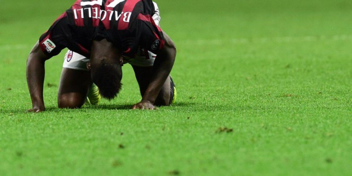 No les sirvió su haka: AC Milan empató con el Carpi y se ganó las pifias en San Siro