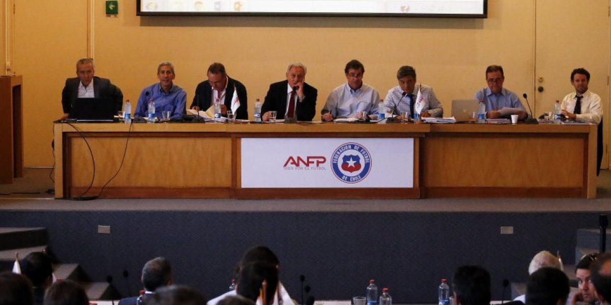 Los cuatro puntos que se tomarán el consejo de Presidentes de la ANFP