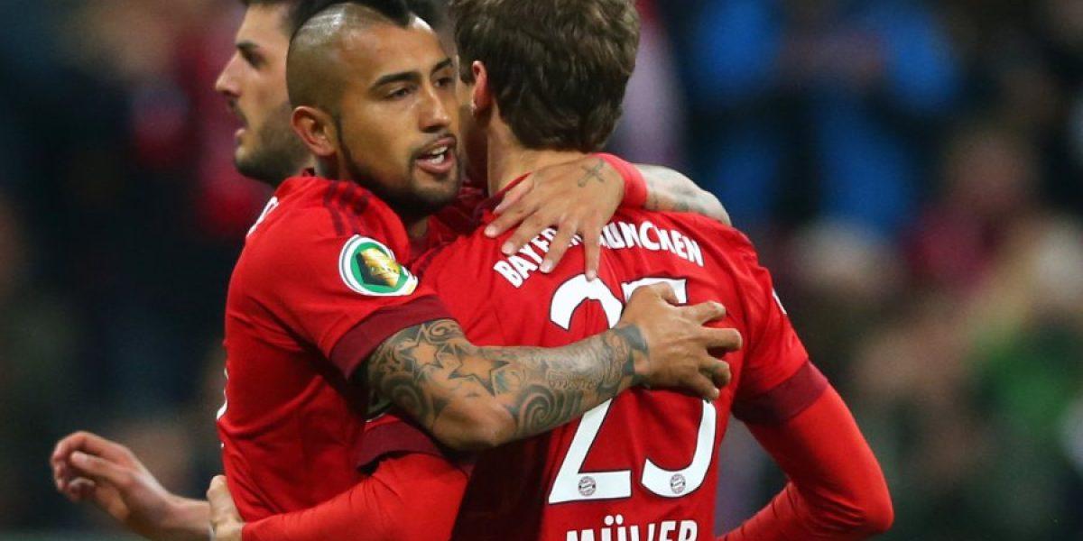 La fórmula para que el Bayern de Vidal sea campeón de la Bundesliga este fin de semana