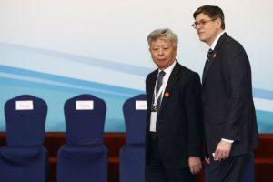 Jin Liqun. Político y banquero chino, (izq). Foto:Getty Images. Imagen Por: