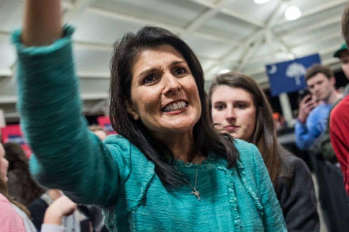 Nikki Haley, gobernadora de Carolina del Sur, Estados Unidos. Foto:Getty Images. Imagen Por: