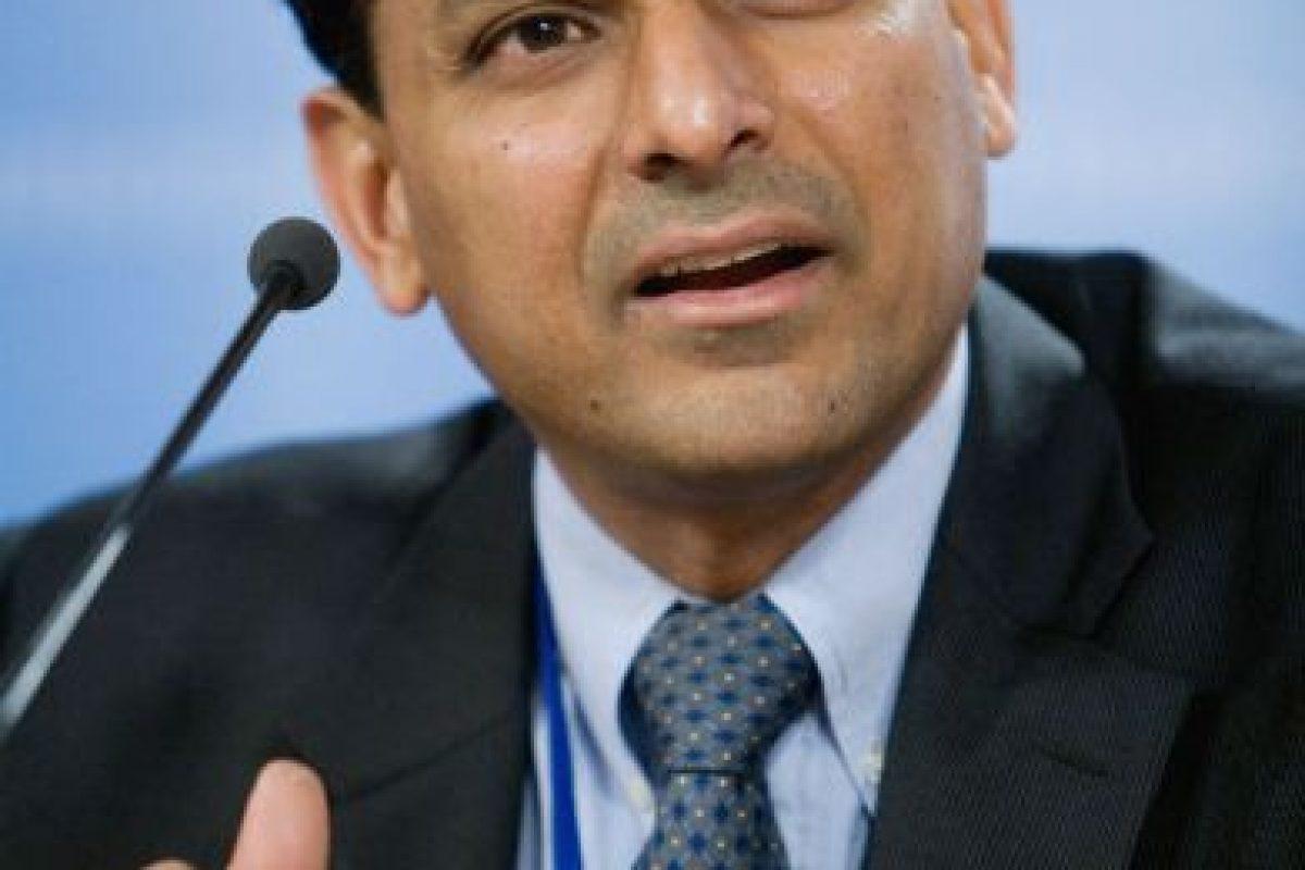 Raghuram Rajan. Economista de la India. Foto:Getty Images. Imagen Por: