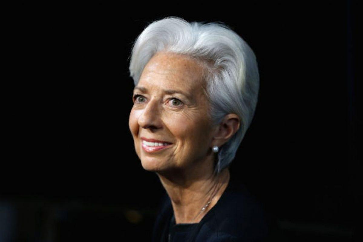 Christine Lagarde. Una abogada y política francesa, directora gerente del Fondo Monetario Internacional Foto:Getty Images. Imagen Por: