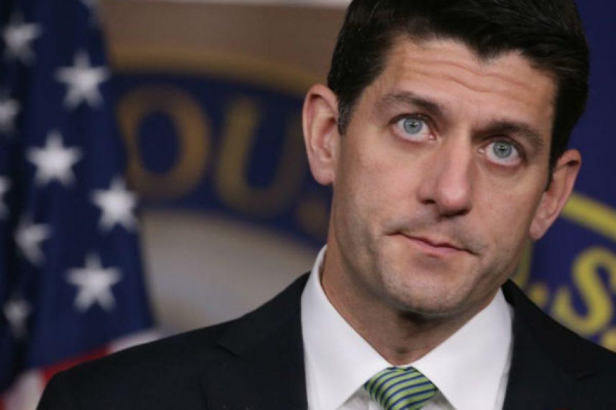 Paul Ryan. Presidente de la Cámara de Representantes de los Estados Unidos. Foto:Getty Images. Imagen Por: