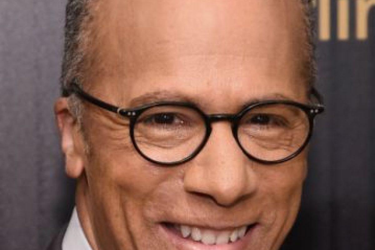 Lester Holt. Periodista estadounidense de la cadena NBC. Foto:Getty Images. Imagen Por: