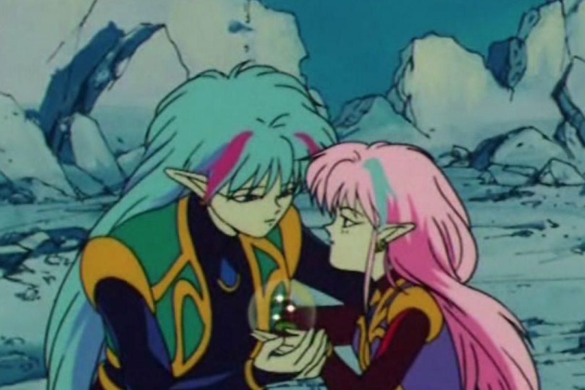 Alan y Ann no existieron en la versión manga. Foto:Toei. Imagen Por: