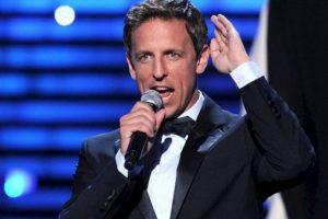 """""""Cuando trabajas con las mujeres fuertes que yo he trabajado, la idea de que alguien decida por ellas es una tontería"""", dice Seth Meyers, actor de Saturday Night Live. Foto:vía Getty Images. Imagen Por:"""