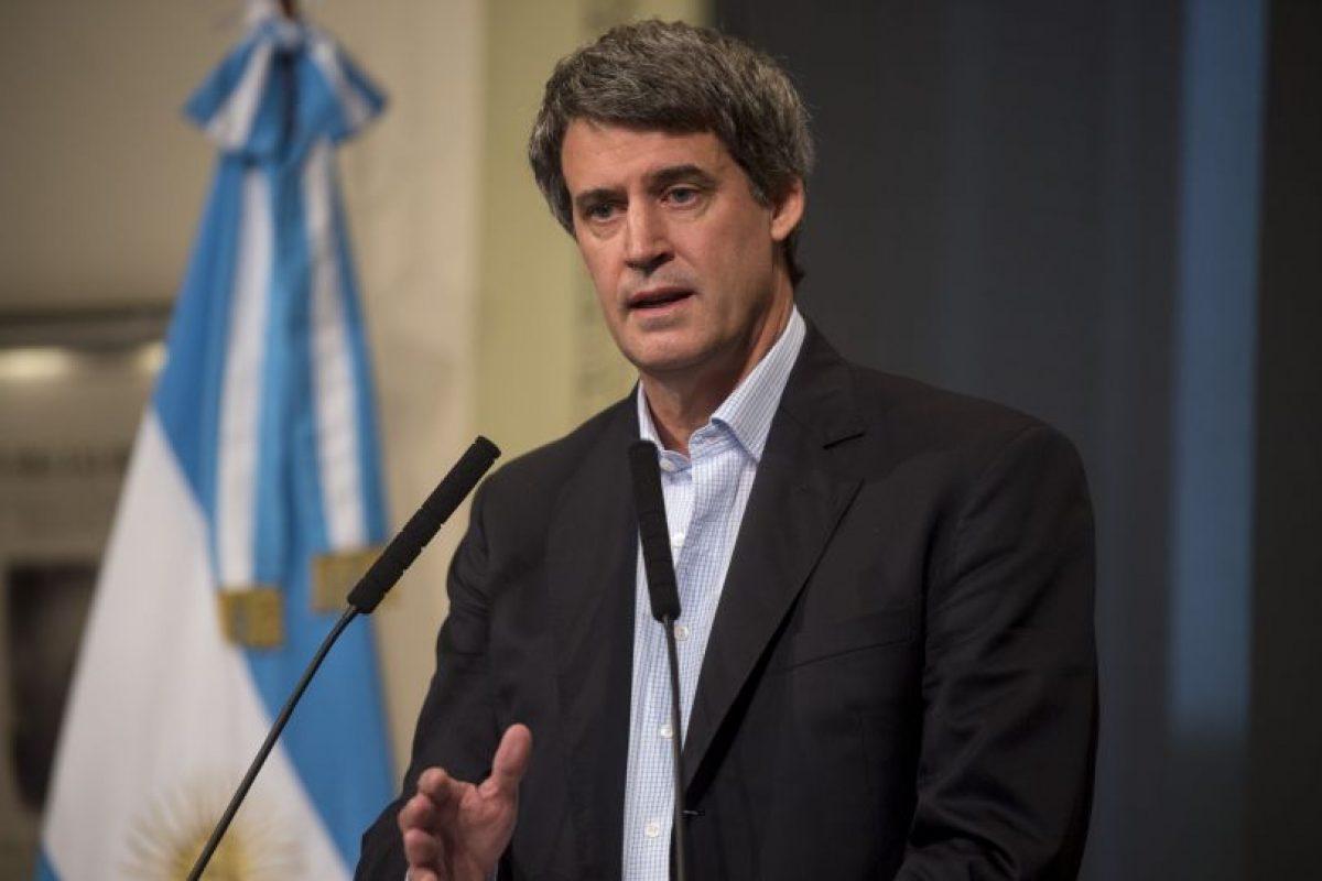Alfonso Prat-Gay. Ministro de Hacienda y Finanzas Públicas de Argentina. Foto:AFP. Imagen Por: