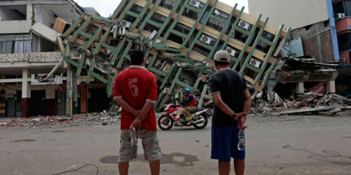 Nueva réplica de magnitud 6 en la zona de Ecuador más afectada por el terremoto