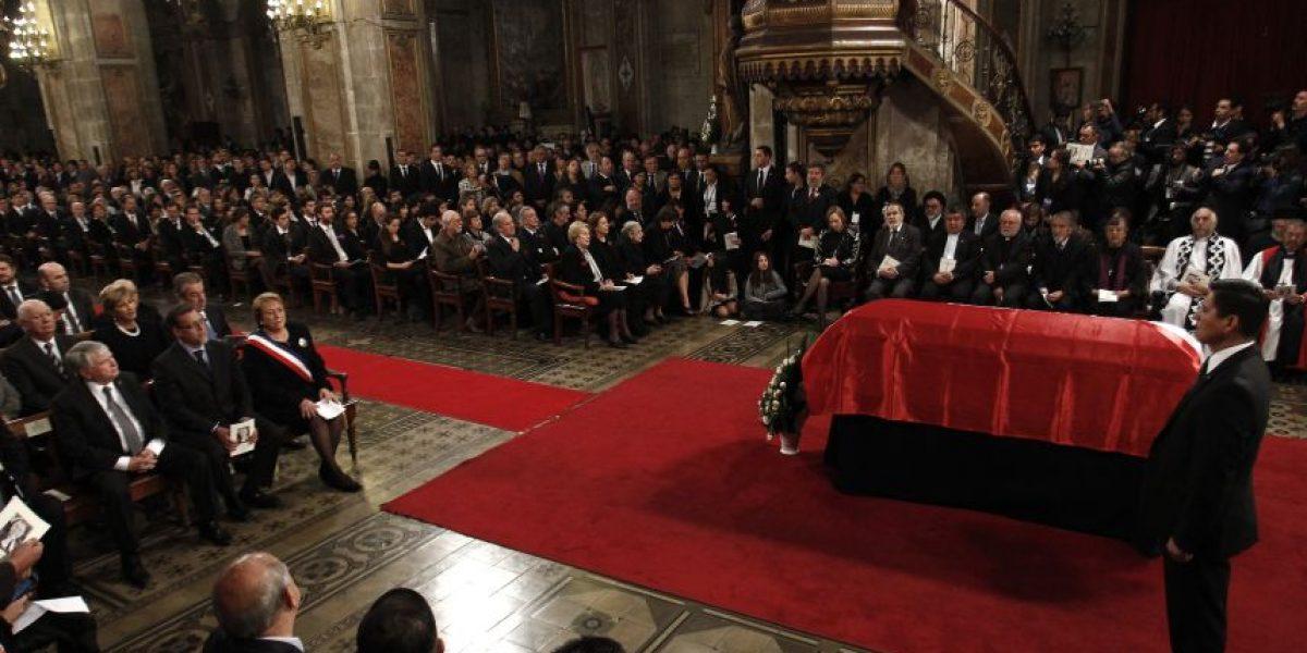 Cardenal Ezzati en misa fúnebre de ex Presidente Aylwin: