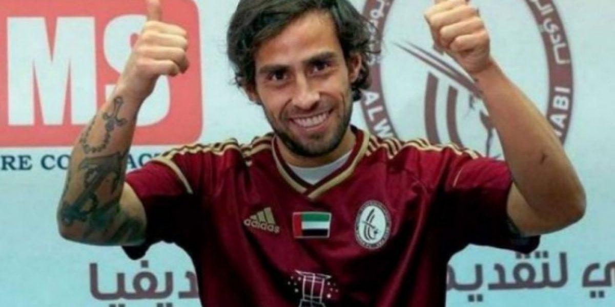 Celebración en Emiratos Arábes: Jorge Valdivia marca en goleada del Al Wahda