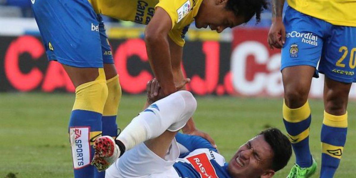 Espanyol de Enzo Roco es goleado y está a cinco puntos del descenso español
