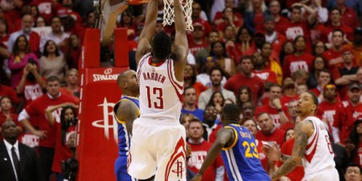 Playoffs de la NBA: Golden State cae dramáticamente ante Houston sin Curry