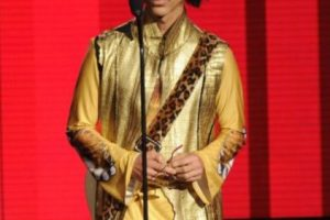 En 2004 Prince ingresó al Salón de la Fama del Rock and Roll. Foto: Grosby Group. Imagen Por: