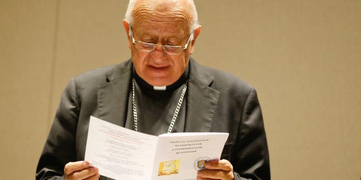 Cardenal Ezzati y sueldo ético: