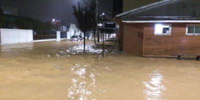 Decretan Alerta Amarilla en Tomé por inundaciones y desbordes de ríos en la VIII Región