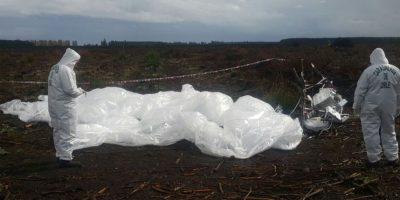 Impacto causa satélite de Google que cayó en fundo de la Región del Bío Bío