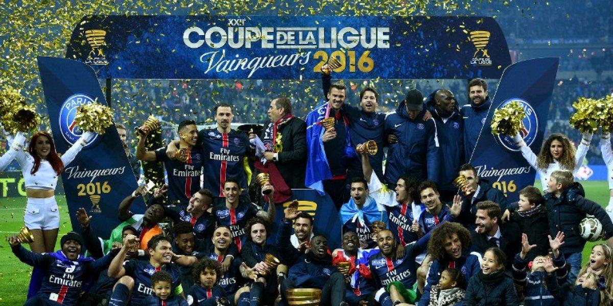 Las penas de Champions se pasan en casa: PSG se coronó campeón de la Copa de la Liga