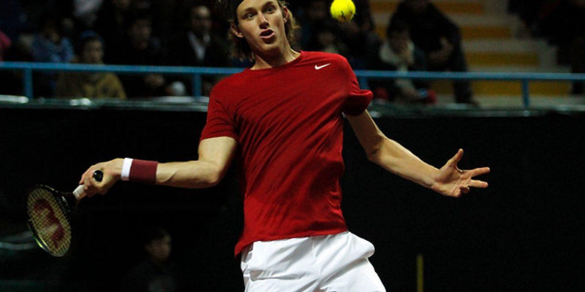 Nicolás Jarry luchó, pero quedó eliminado en cuartos en Savannah